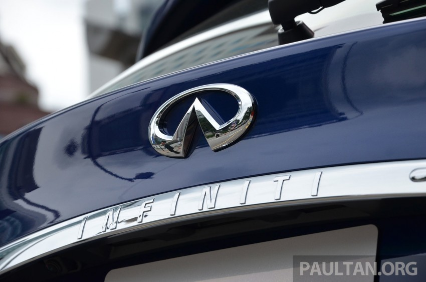 Infiniti QX70S – sport package now available, RM500k Image #266810