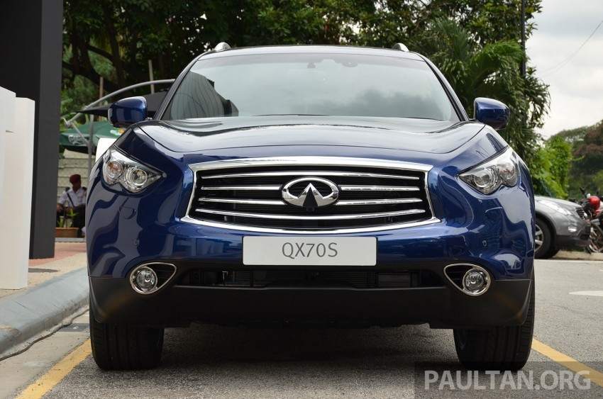 Infiniti QX70S – sport package now available, RM500k Image #266811