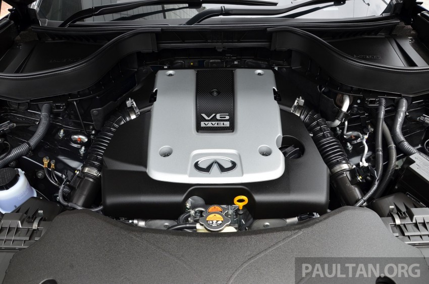 Infiniti QX70S – sport package now available, RM500k Image #266814