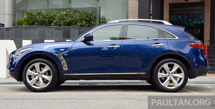 Infiniti QX70S – sport package now available, RM500k Image #266815