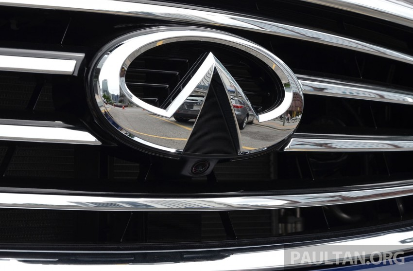 Infiniti QX70S – sport package now available, RM500k Image #266818