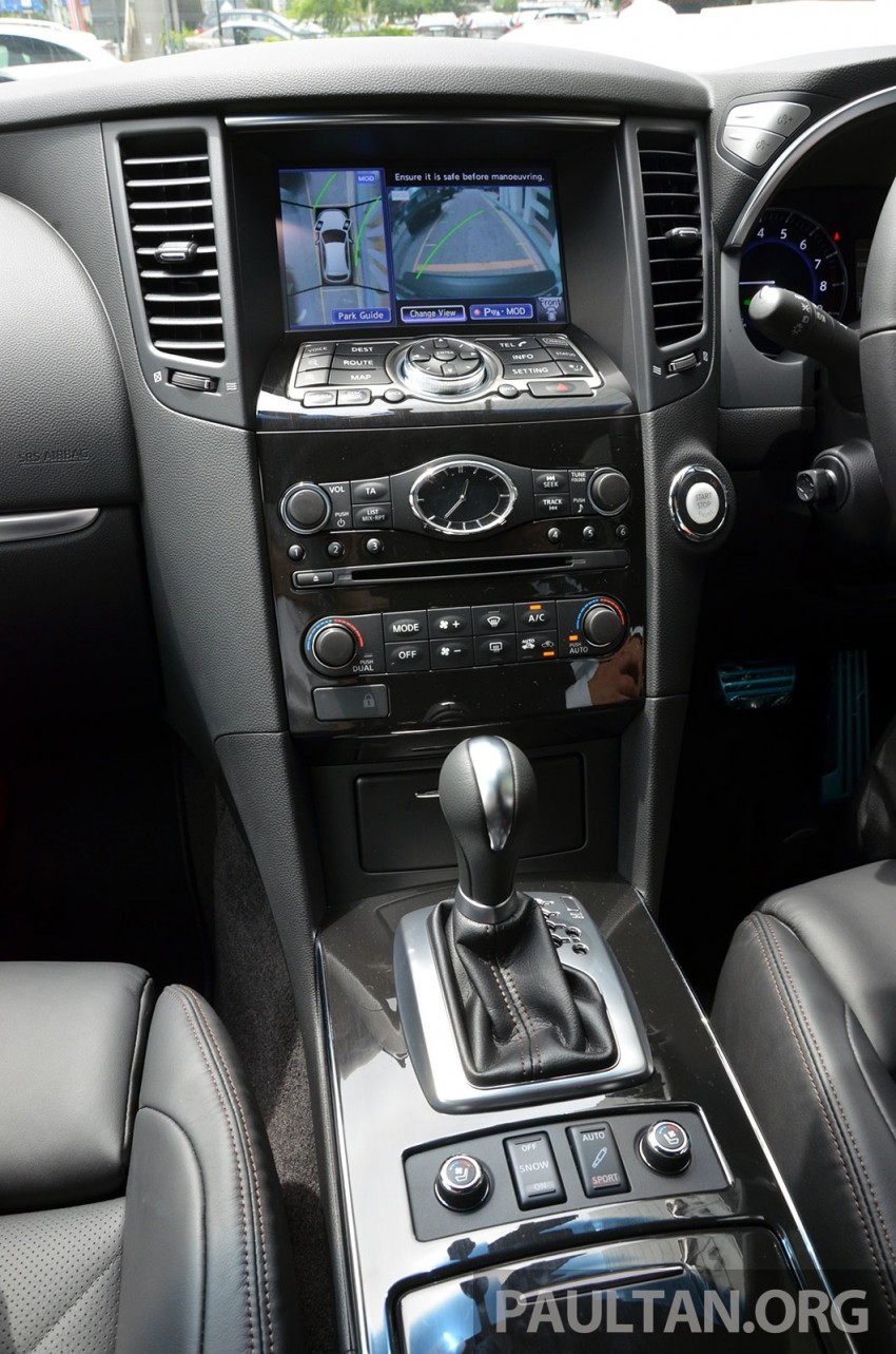 Infiniti QX70S – sport package now available, RM500k Image #266769