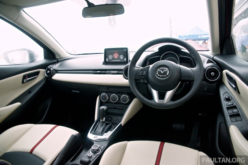 DRIVEN: 2015 Mazda 2 1.5 SkyActiv-G previewed in Japan – a supermini with sports car ambitions Image #265778