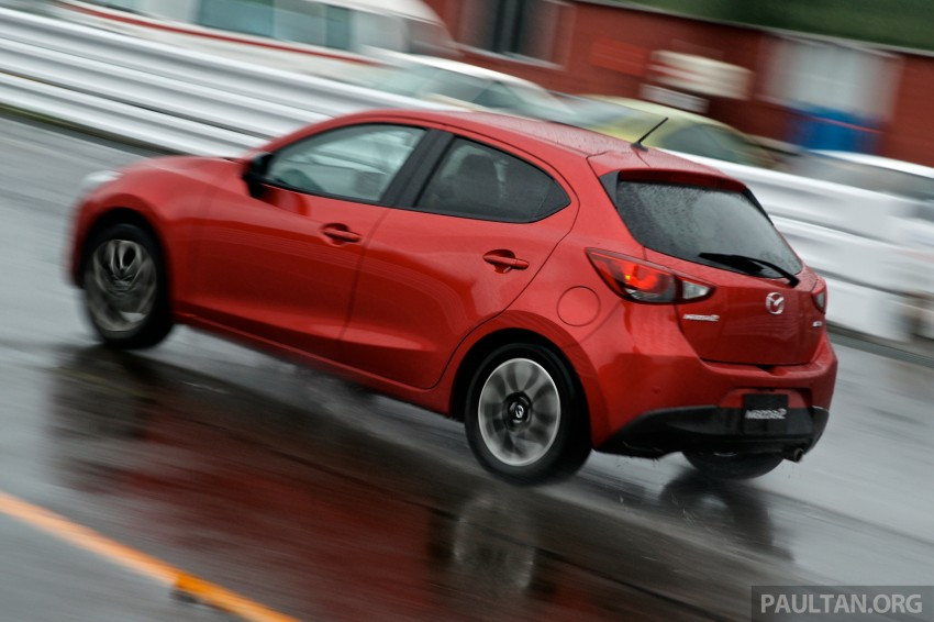 DRIVEN: 2015 Mazda 2 1.5 SkyActiv-G previewed in Japan – a supermini with sports car ambitions Image #265783