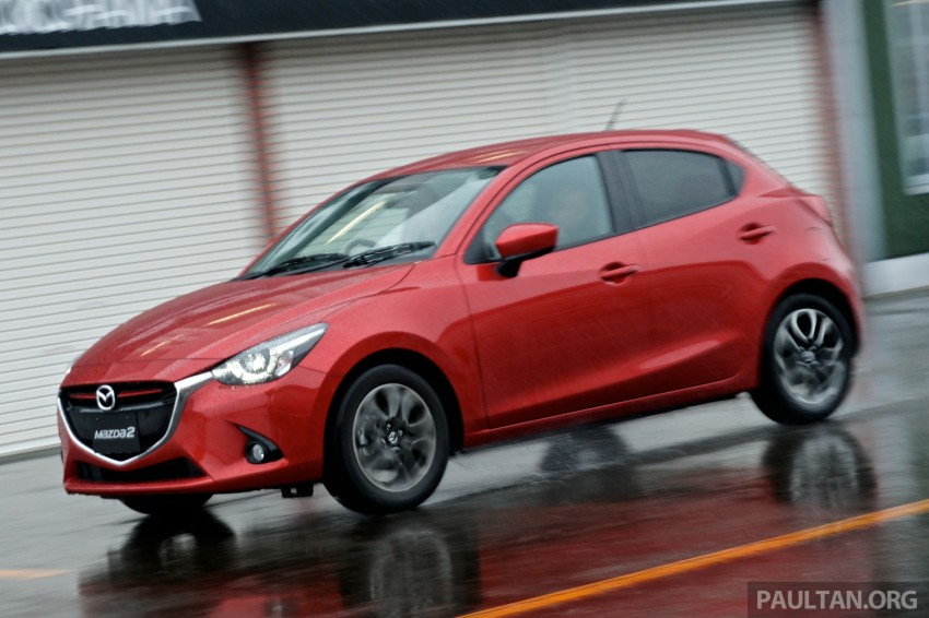 DRIVEN: 2015 Mazda 2 1.5 SkyActiv-G previewed in Japan – a supermini with sports car ambitions Image #265785