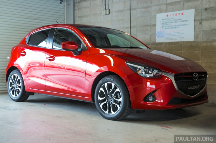 DRIVEN: 2015 Mazda 2 1.5 SkyActiv-G previewed in Japan – a supermini with sports car ambitions Image #265787