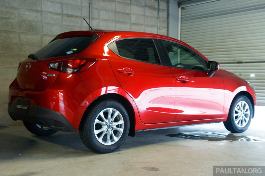 DRIVEN: 2015 Mazda 2 1.5 SkyActiv-G previewed in Japan – a supermini with sports car ambitions Image #265788