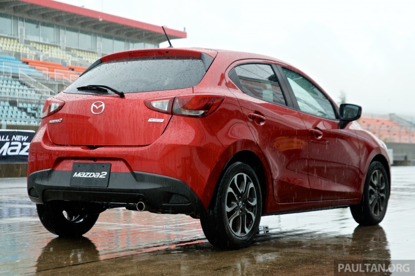 DRIVEN: 2015 Mazda 2 1.5 SkyActiv-G previewed in Japan – a supermini with sports car ambitions Image #265771