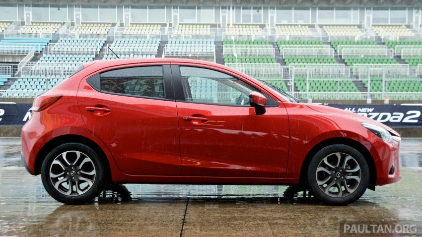 DRIVEN: 2015 Mazda 2 1.5 SkyActiv-G previewed in Japan – a supermini with sports car ambitions Image #265772