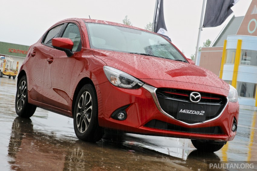 DRIVEN: 2015 Mazda 2 1.5 SkyActiv-G previewed in Japan – a supermini with sports car ambitions Image #265808