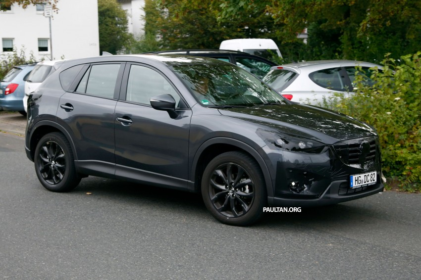 SPYSHOTS: Mazda CX-5 facelift – new grille and lamps Image #271086