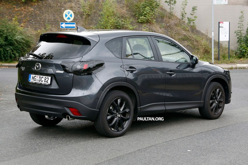SPYSHOTS: Mazda CX-5 facelift – new grille and lamps Image #271084