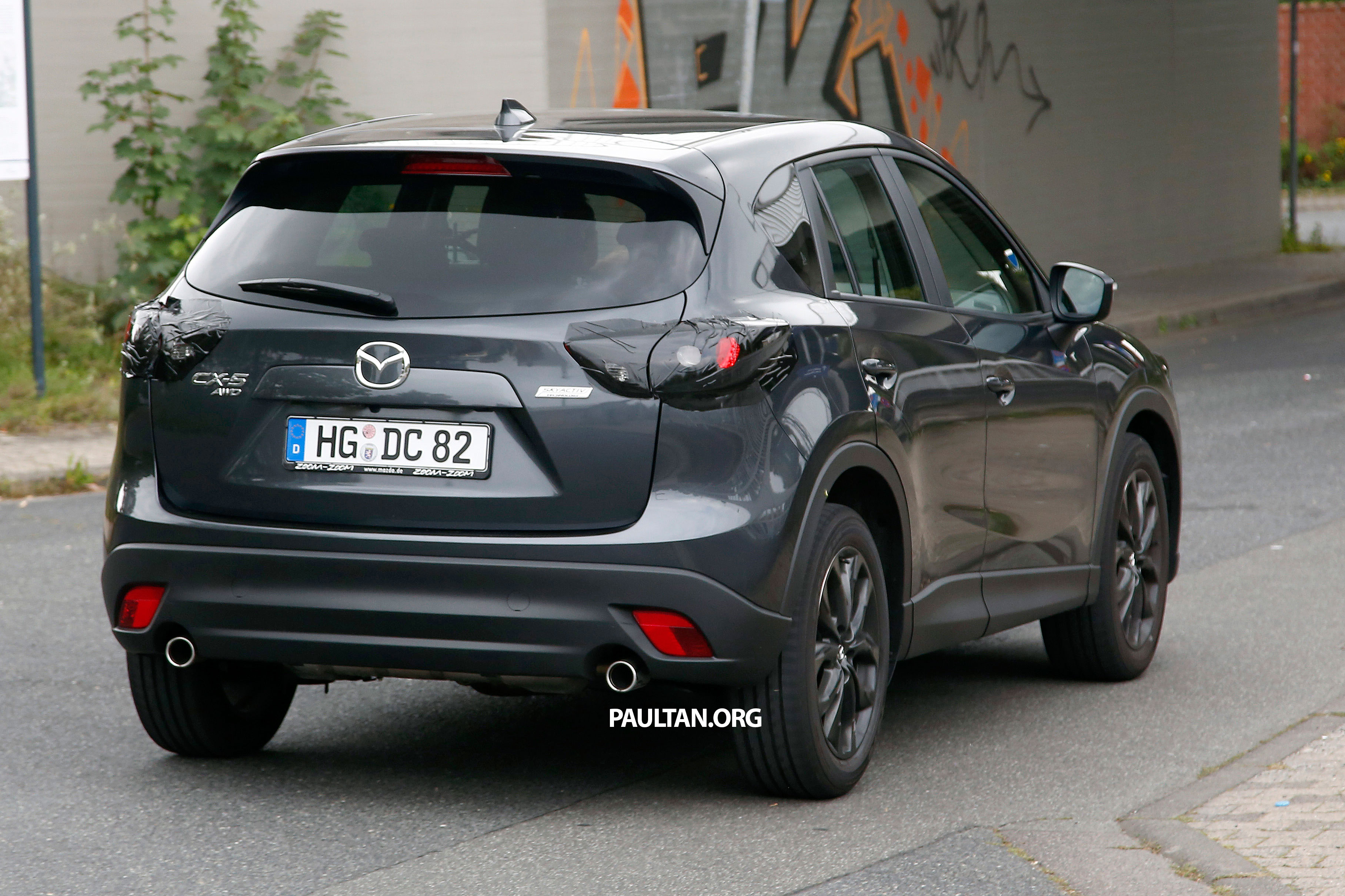 Spyshots Mazda Cx 5 Facelift New Grille And Lamps Image