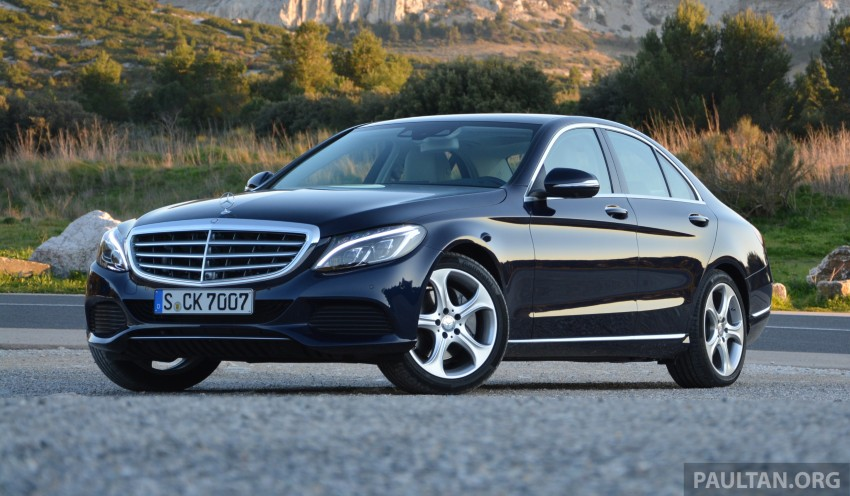 DRIVEN: W205 Mercedes-Benz C-Class in France Image #267668