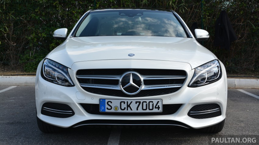 DRIVEN: W205 Mercedes-Benz C-Class in France Image #267677