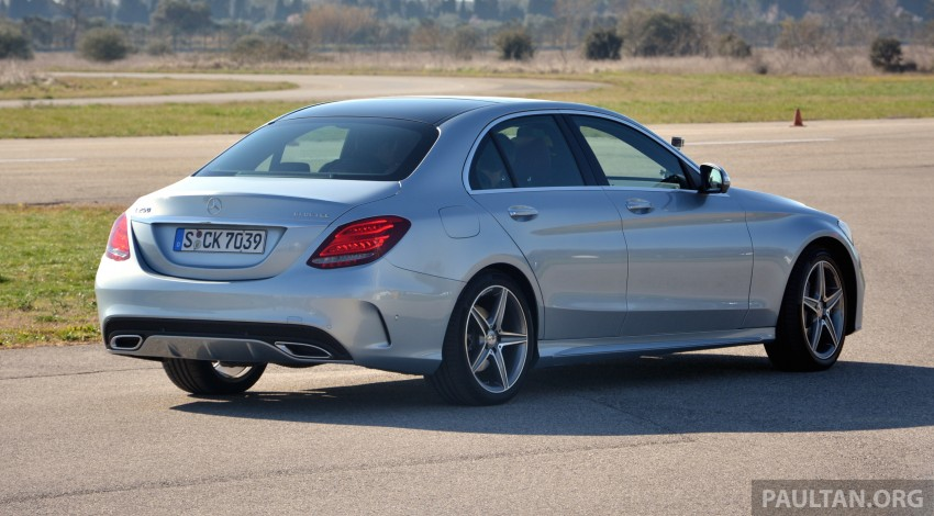 DRIVEN: W205 Mercedes-Benz C-Class in France Image #267678