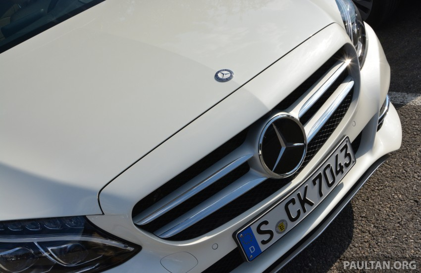 DRIVEN: W205 Mercedes-Benz C-Class in France Image #267781