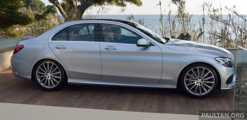 DRIVEN: W205 Mercedes-Benz C-Class in France Image #267784