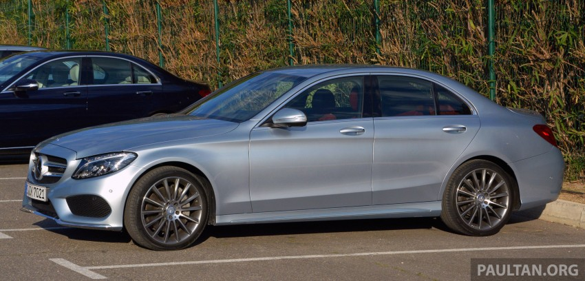 DRIVEN: W205 Mercedes-Benz C-Class in France Image #267785