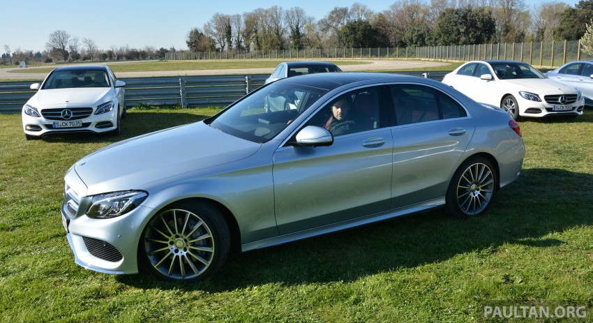 DRIVEN: W205 Mercedes-Benz C-Class in France Image #267787