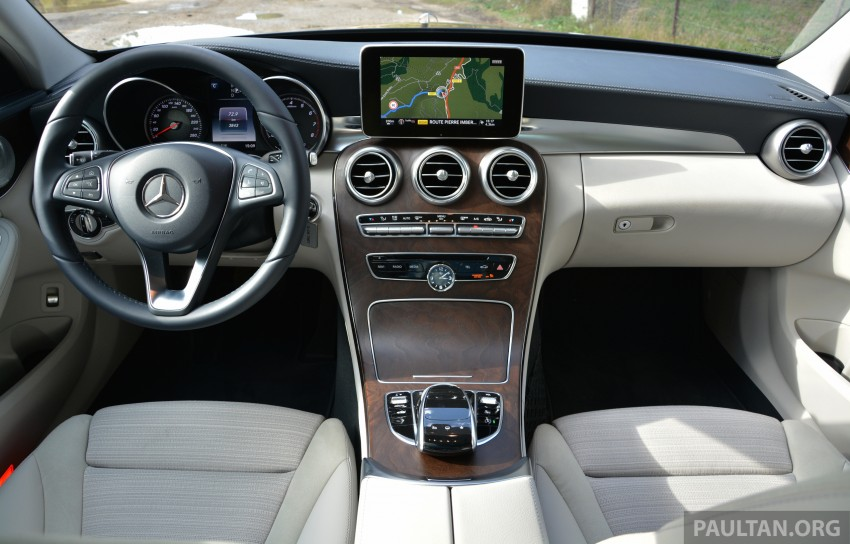 DRIVEN: W205 Mercedes-Benz C-Class in France Image #267679