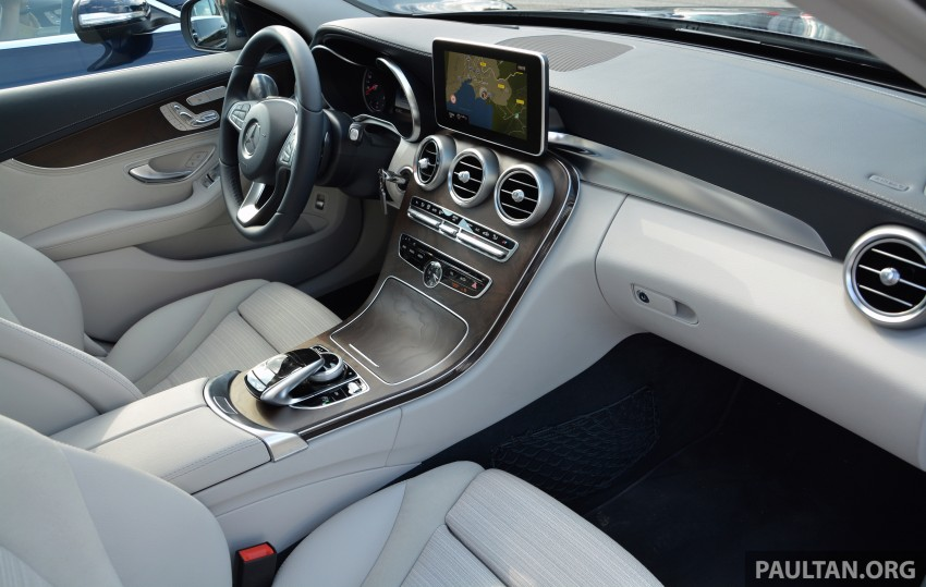 DRIVEN: W205 Mercedes-Benz C-Class in France Image #267682