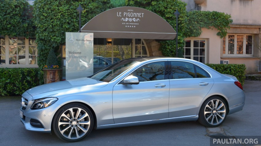 DRIVEN: W205 Mercedes-Benz C-Class in France Image #267670