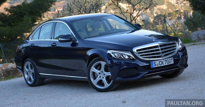 DRIVEN: W205 Mercedes-Benz C-Class in France Image #267703