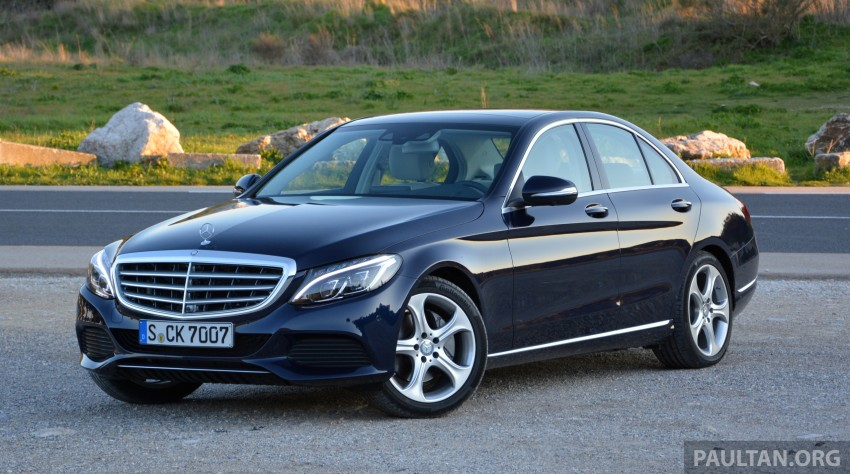 DRIVEN: W205 Mercedes-Benz C-Class in France Image #267705