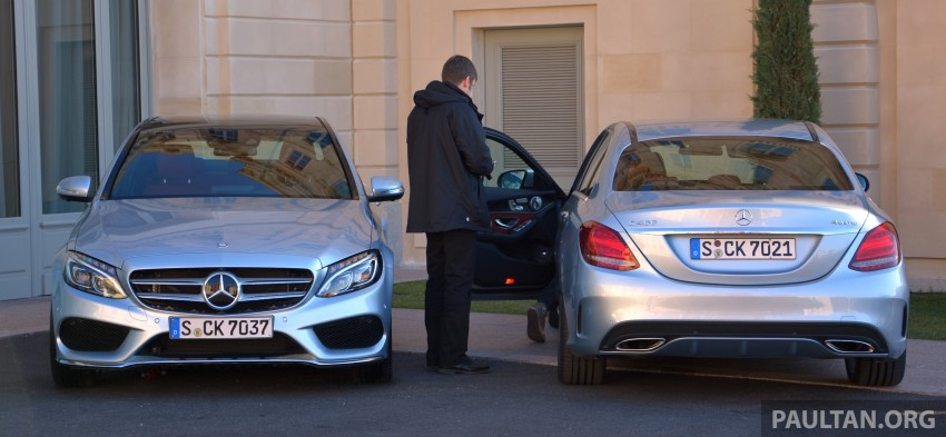 DRIVEN: W205 Mercedes-Benz C-Class in France Image #267706