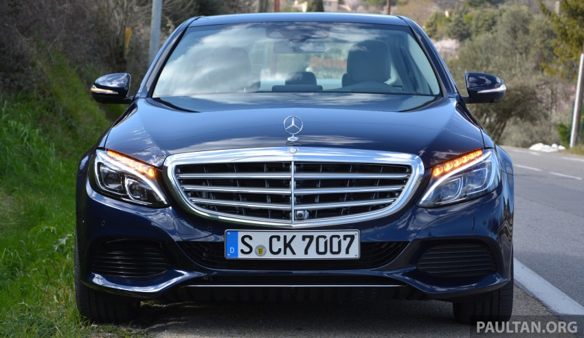 DRIVEN: W205 Mercedes-Benz C-Class in France Image #267671