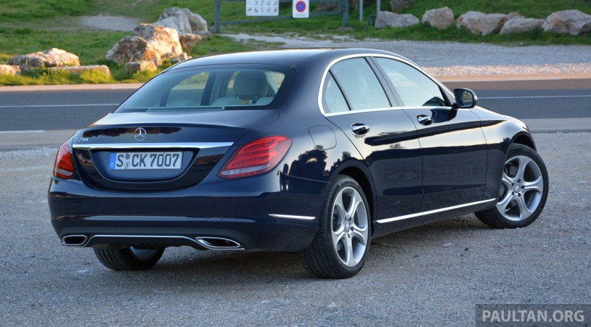 DRIVEN: W205 Mercedes-Benz C-Class in France Image #267707