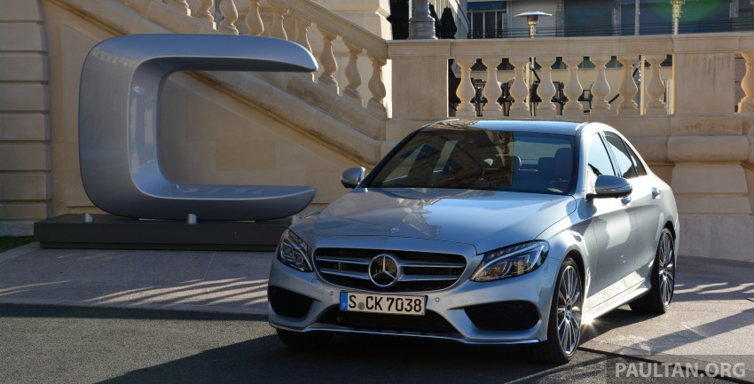 DRIVEN: W205 Mercedes-Benz C-Class in France Image #267717