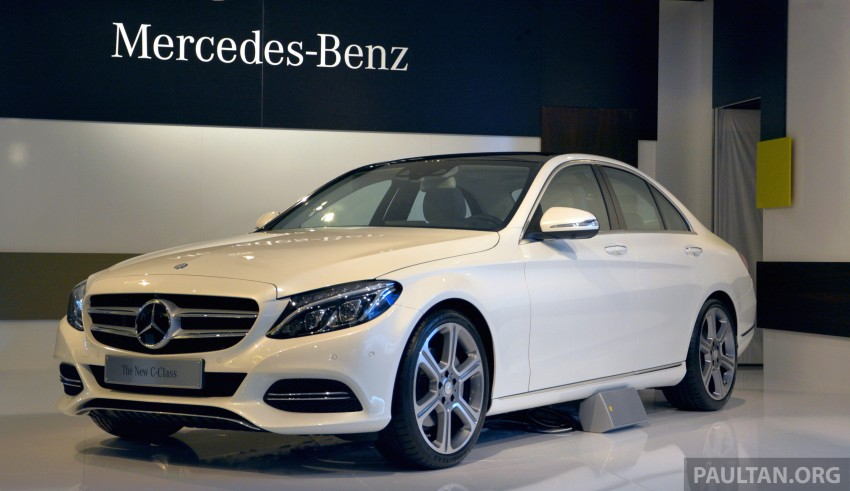 DRIVEN: W205 Mercedes-Benz C-Class in France Image #267718