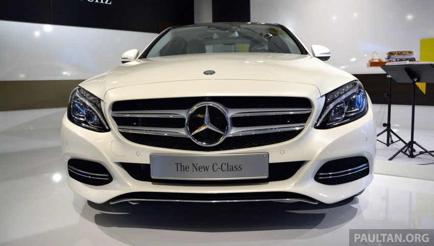 DRIVEN: W205 Mercedes-Benz C-Class in France Image #267720