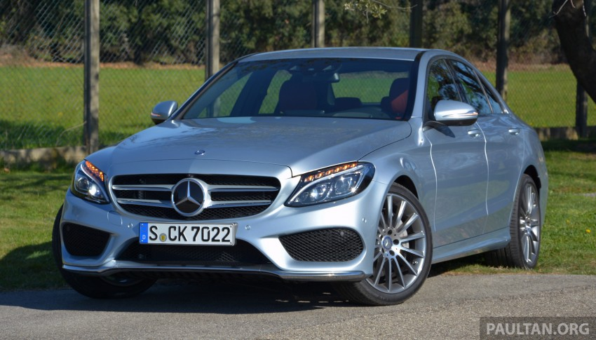 DRIVEN: W205 Mercedes-Benz C-Class in France Image #267722