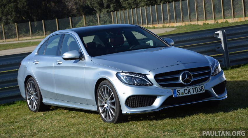 DRIVEN: W205 Mercedes-Benz C-Class in France Image #267725