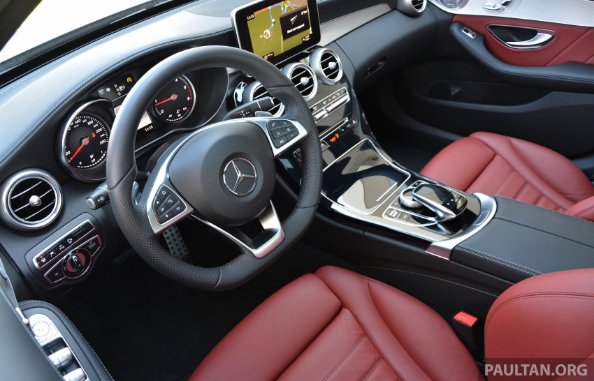 DRIVEN: W205 Mercedes-Benz C-Class in France Image #267727