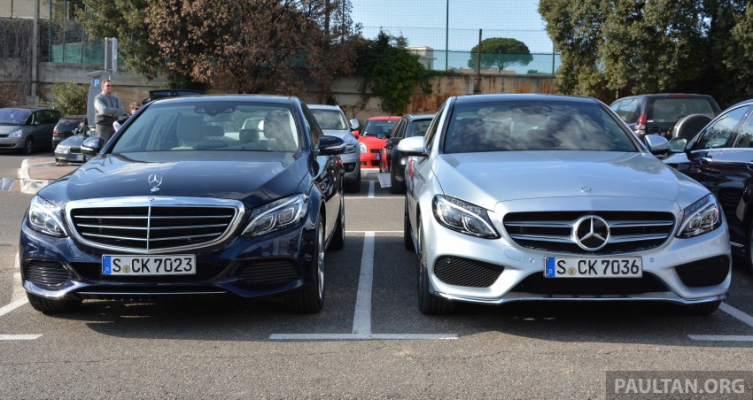 DRIVEN: W205 Mercedes-Benz C-Class in France Image #267673