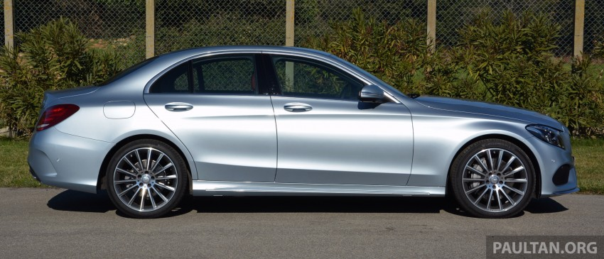 DRIVEN: W205 Mercedes-Benz C-Class in France Image #267674