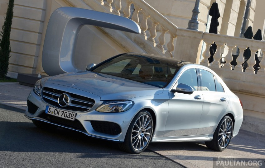 DRIVEN: W205 Mercedes-Benz C-Class in France Image #267675