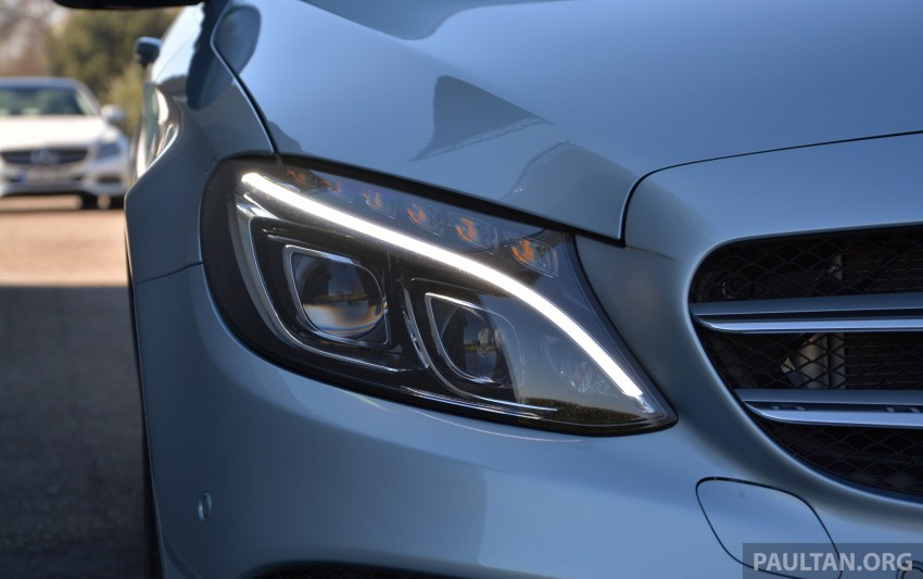 DRIVEN: W205 Mercedes-Benz C-Class in France Image #267749