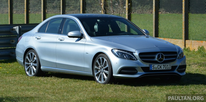 DRIVEN: W205 Mercedes-Benz C-Class in France Image #267752