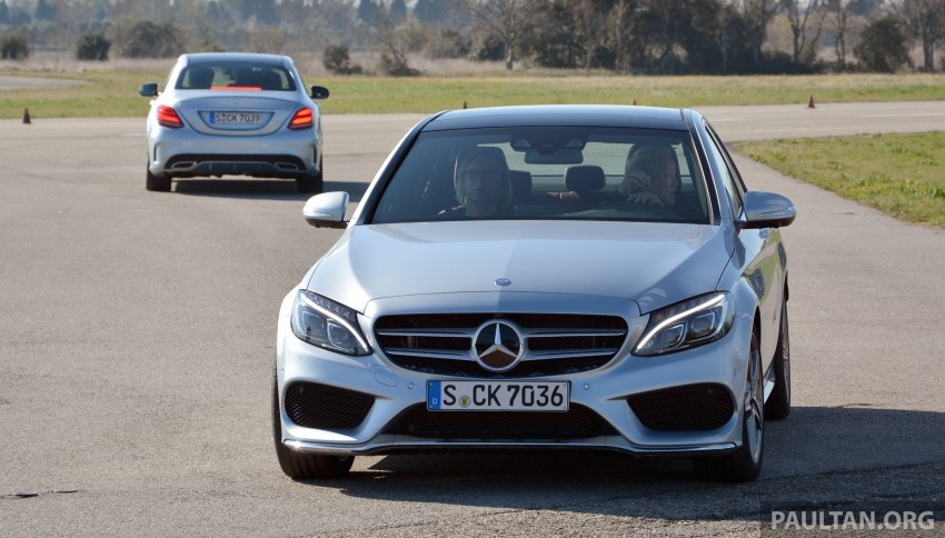 DRIVEN: W205 Mercedes-Benz C-Class in France Image #267676