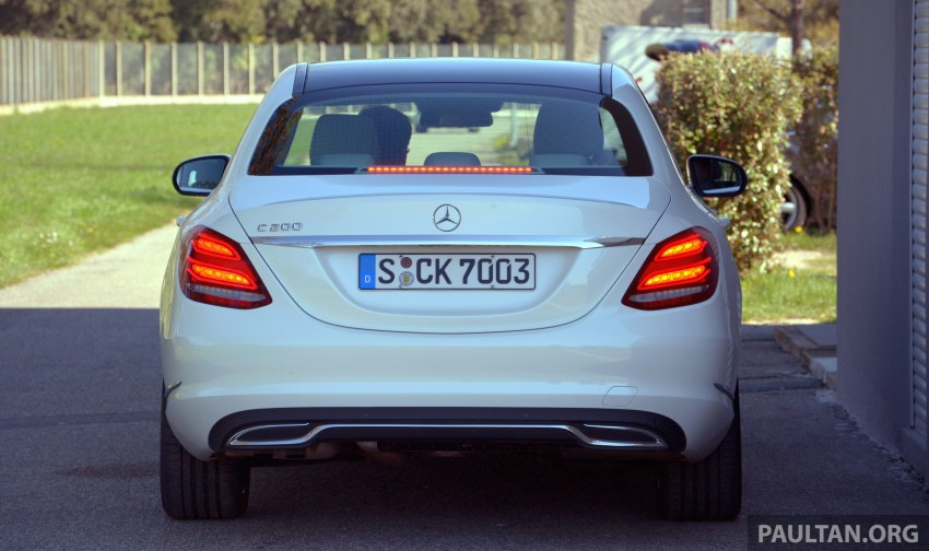 DRIVEN: W205 Mercedes-Benz C-Class in France Image #267758