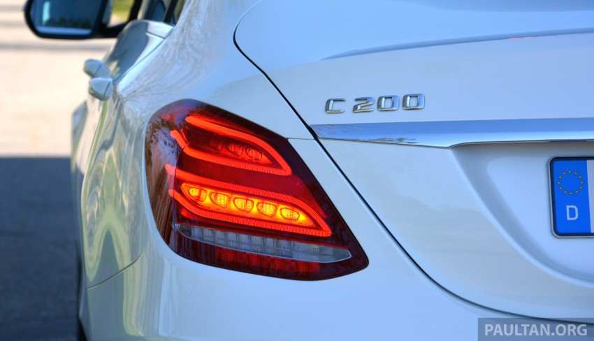 DRIVEN: W205 Mercedes-Benz C-Class in France Image #267759