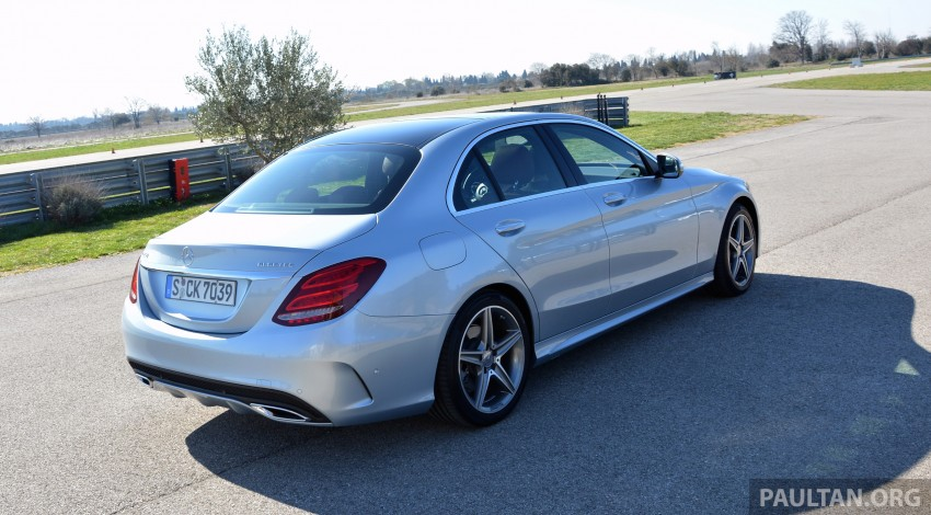 DRIVEN: W205 Mercedes-Benz C-Class in France Image #267760
