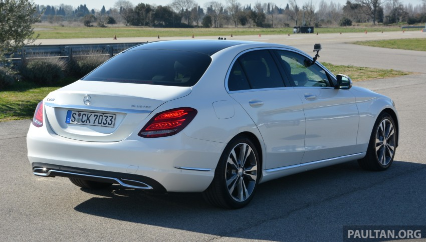 DRIVEN: W205 Mercedes-Benz C-Class in France Image #267761