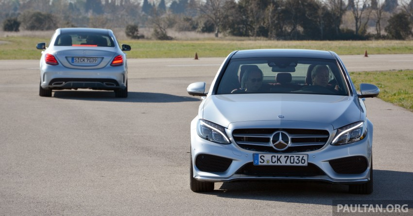 DRIVEN: W205 Mercedes-Benz C-Class in France Image #267762