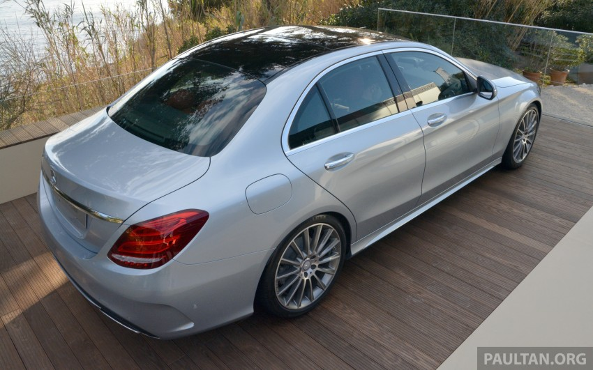 DRIVEN: W205 Mercedes-Benz C-Class in France Image #267763
